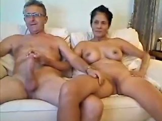 Mature Filipina Lady Stroking Old Mans Huge Dick And Showing Her Pussy