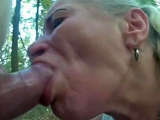 Pumped Cock Use Poor Hooker Mouth And Throat In Forest Txxx Com