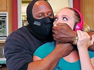 Sexy Teen Aj Applegate Devours Huge Cock Of Burglar