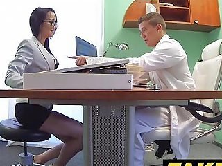 Fake Hospital Doctors Thick Dick Stretches Hot